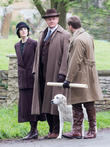 Michelle Dockery, Allen Leech and Hugh Bonneville