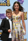 Maia Mitchell and brother Charlie Mitchell