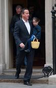 David Cameron and Florence Cameron