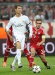 Cristiano Ronaldo and Philipp Lahm