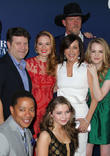 Sean Astin, Trace Adkins, Sarah Drew, Sammi Hanratty, Patricia Heaton and Abbie Cobb