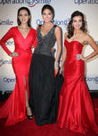 Elvira Devinamira, Miss Indonesia, Gabriela Isler, Miss Universe, Erin Brady and Miss Usa