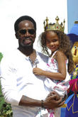 Harold Perrineau and daughter