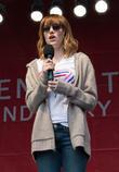 Emma Stone, Times Square