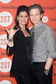 Sebastian Arcelus and Stephanie J. Block