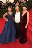 Georgina Bloomberg, Mayor Michael Bloomberg, and Diana Taylor, Metropolitan Muesum of Art