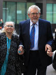 Rolf Harris and Alwen Hughes