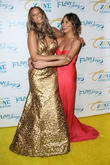 Tyra Banks and Chrissy Teigen
