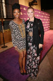Brandy Norwood and Caitlin O'connor