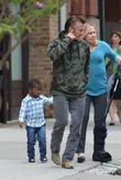 Sean Penn and Jackson Theron