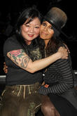 Margaret Cho and Linda Perry