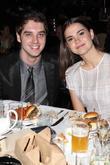 David Lambert and Maia Mitchell