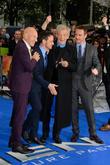 Sir Patrick Stewart, James Mcavoy, Sir Ian McKellen and Michael Fassbender