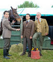 Lee Latchford-Evans, Oliver Mellor and Mark Curry