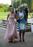 Geri Halliwell and Pandora Delevingne