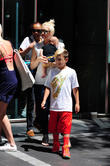 Gwen Stefani, Apollo Rossdale and Kingston Rossdale