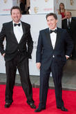 Lee Mack and Rob Brydon