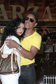 Halima Jackson and Jermaine Jackson