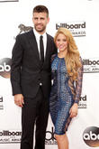 Shakira And Sons Support Gerard Pique At Spanish Soccer Awards