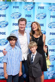 American Idol, Jonathan Mangum and family