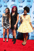 American Idol, Kristen O'Connor, Jessica Meuse and Majesty Rose