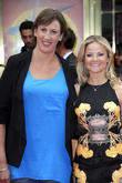 Miranda Hart and Sarah Hadland