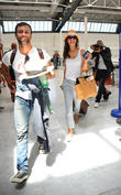 Alessandra Ambrosio and Jamie Mazur arrive at Nice...