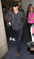 Kevin Bacon arrives at Los Angeles International (LAX) airport