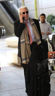 Donald Sutherland, Los Angeles International Airport (LAX)