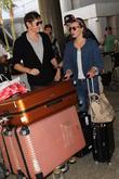 Paul W. S. Anderson, Milla Jovovich, Los Angeles International Airport (LAX)