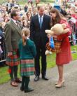 Prince William, Catherine Middleton Duchess of Cambridge, Crieff