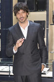 Andres Velencoso attends the opening of the new Montblanc store