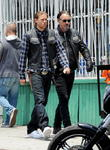 Charlie Hunnam and Tommy Flanagan