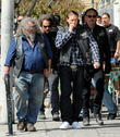 Charlie Hunnam, Tommy Flanagan, Kim Coates and Mark Boone Junior