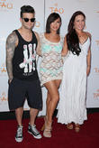 Mark Ballas, Cheryl Burke and Sharna Burgess