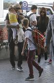 David Beckham, Harper Beckham, Victoria Beckham and Romeo Beckham