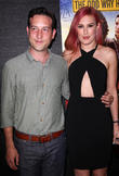 Chris Marquette and Rumer Willis