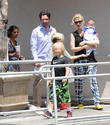 Gwen Stefani, Kingston Rossdale, Zuma Rossdale and Apollo Rossdale