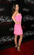 Tammin Sursok, W Hollywood Hotel Rooftop