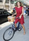 Kelly Killoren Bensimon spotted riding her bicycle
