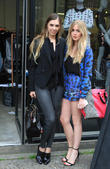 Amber Le Bon and Diana Vickers