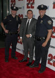 Jonah Hill and Two Of Nypd Finest