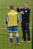 Jose Mourinho and Nicky Byrne