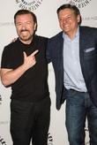 Ricky Gervais, Ted Sandros, Manhattan, Paley Center for Media