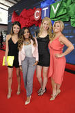Sarah Fisher, Jessica Tyler, Cristine Prosperi and Melinda Shankar