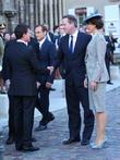 David Cameron, Samantha Cameron and Manuel Valis