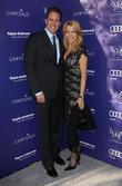 Vanna White and John Gibson