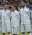 Danny Jones, Mark Owen and Marvin Humes