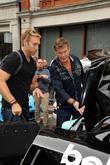 David Hasselhoff and Gumball