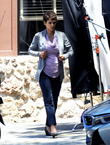 Halle Berry On The Set Of \Extant\
